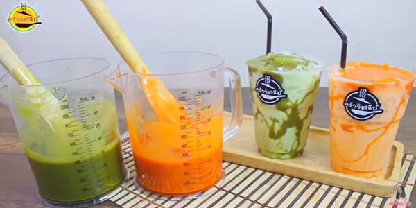 สูตรการทำ ชานมเหนียว ชาเขียว-ชานม โดย ครัววิชณีย์